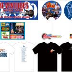 Japan Tour 2017 merchandise