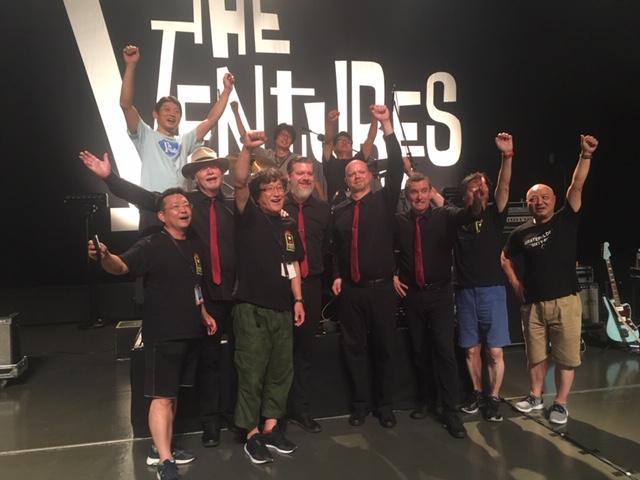 the ventures japan tour 2019, The Ventures Crew